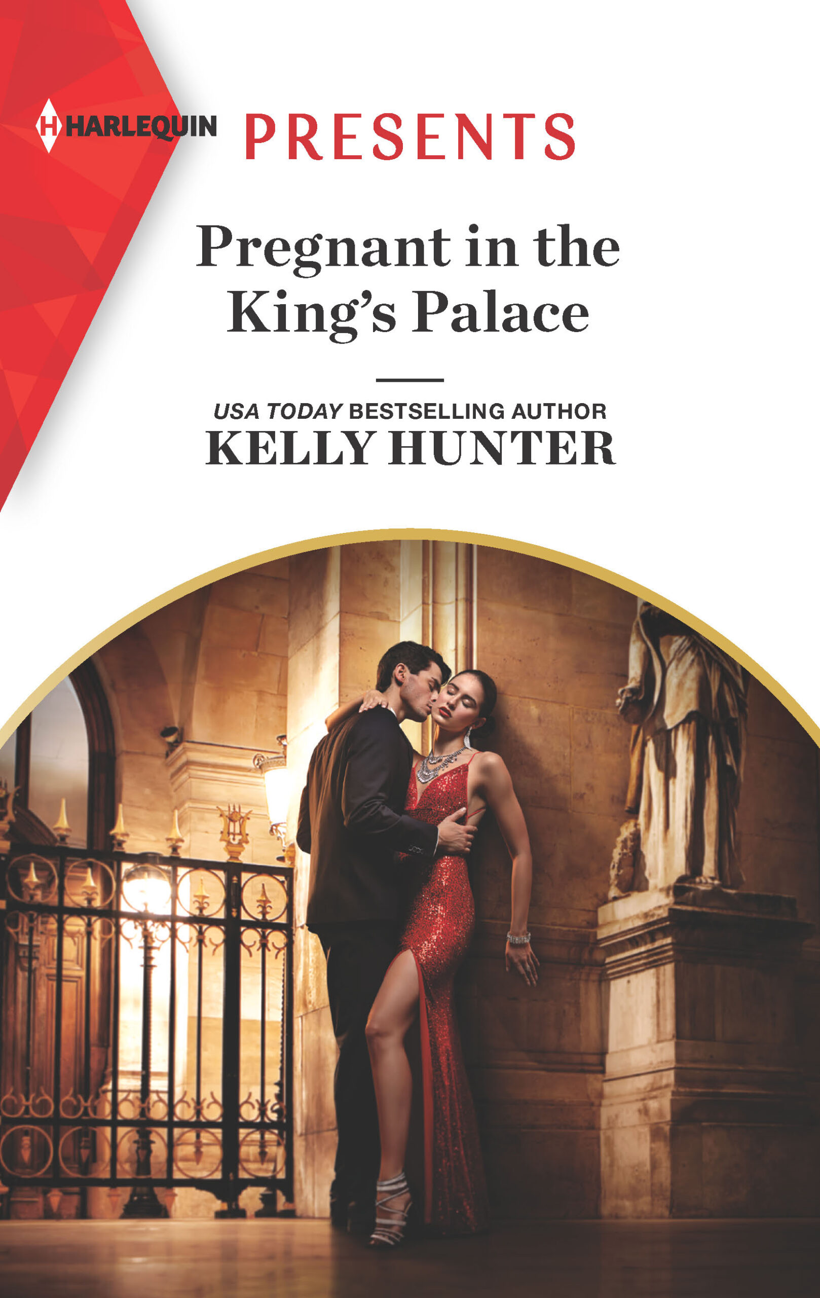 Pregnant in the King's Palace by Kelly Hunter